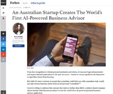 BRiN has been featured in Forbes
