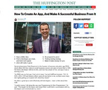 BRiN has been featured in The Huffington Post