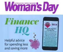 BRiN has been featured in Woman's Day Magazine