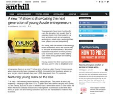 BRiN has been featured in Anthill Online