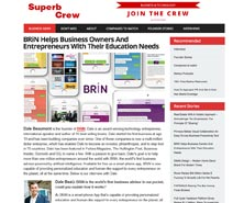 BRiN has been featured in Superb Crew