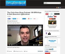 BRiN has been featured in chris Voss Show