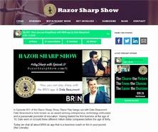 BRiN has been featured in Razor Sharp Show