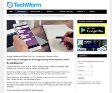 BRiN has been featured in TechWorm