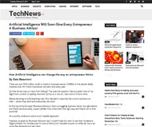 BRiN has been featured in TechNews Log