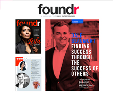 BRiN has been featured in Foundr