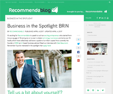 BRiN has been featured in Recommendablog