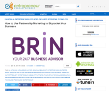 BRiN has been featured in ePodcast
