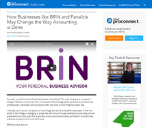 BRiN has been featured in Intuit Blog