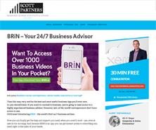 BRiN has been featured in Scott Partners