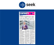 BRiN has been featured in Careers by Seek