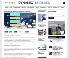 BRiN has been featured in Dynamic Business