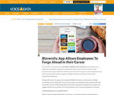 Bizversity has been featured in Voice and Data